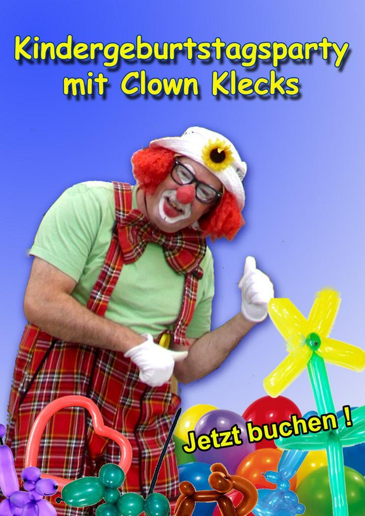 Bild 3: Spaß und Unterhaltung mit Clown Klecks