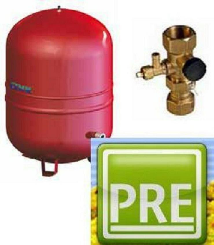 Ausdehnungsgefäß 35 Liter für Pufferspeicher - Durchlauferhitzer & Wasserspeicher - Bild 1