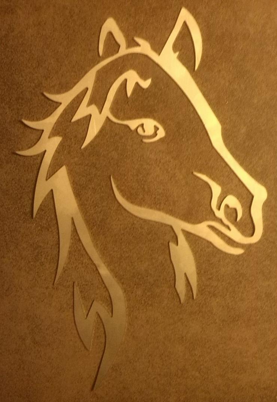 Wandbild 'Pferd'