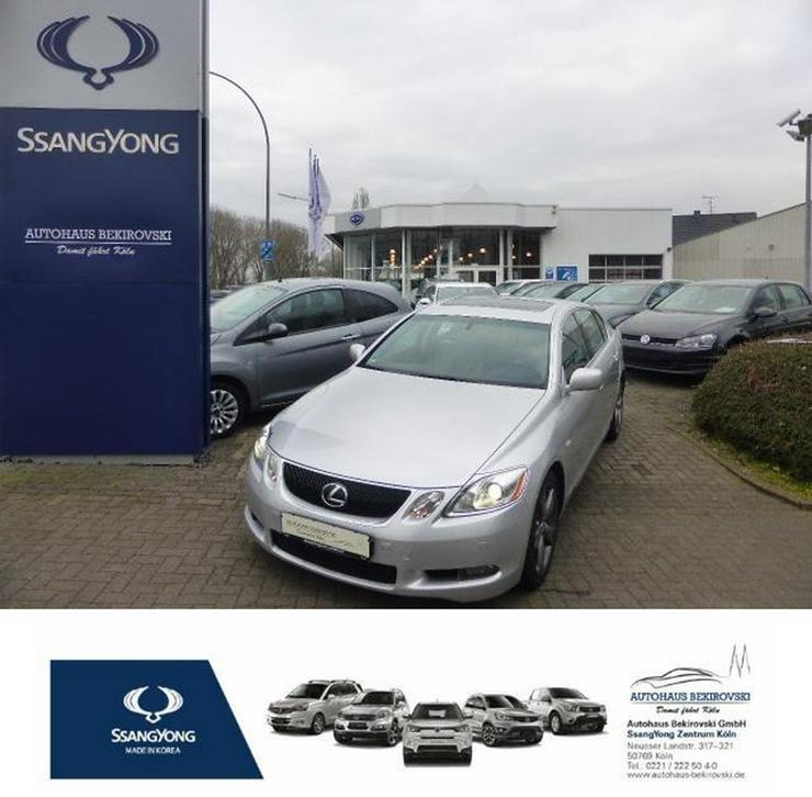 LEXUS GS 430 Luxury Line ACC/DVD Navigation/R.Kamera/Schiebedach/Metallic/Vollausstattung
