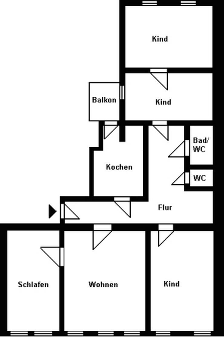 Bild 2: 5-Raum-Wohnung im Stadtzentrum!