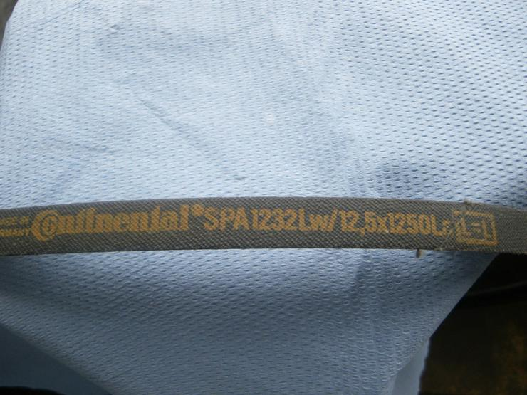 Bild 2: CONTINENTAL Schmalkeilriemen SPA 1232