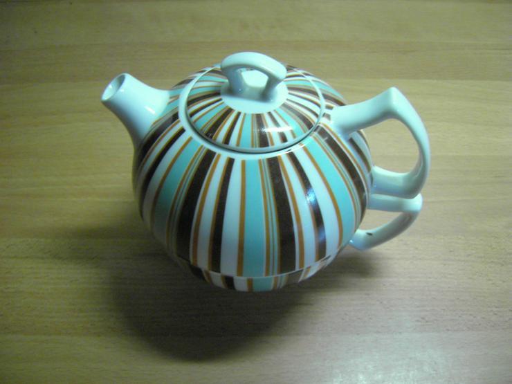 Teekanne mit Tasse integriert  ( Porzellan