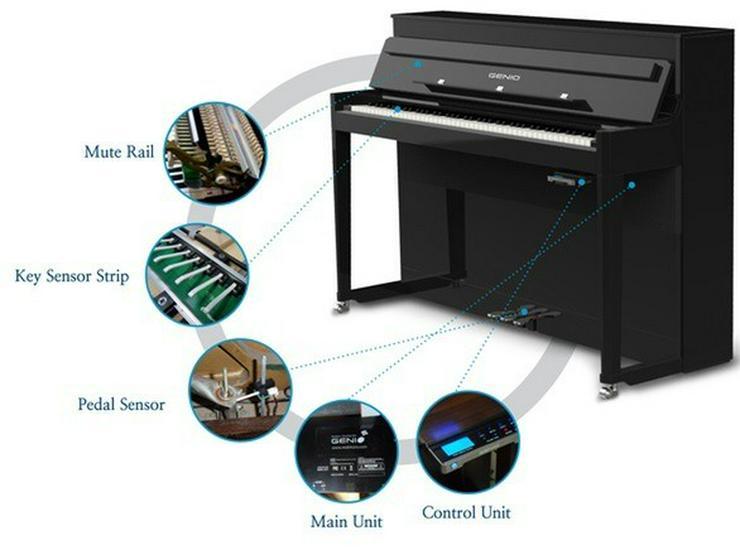 Silent System Einbau in Ihr vorhandenes Klavier