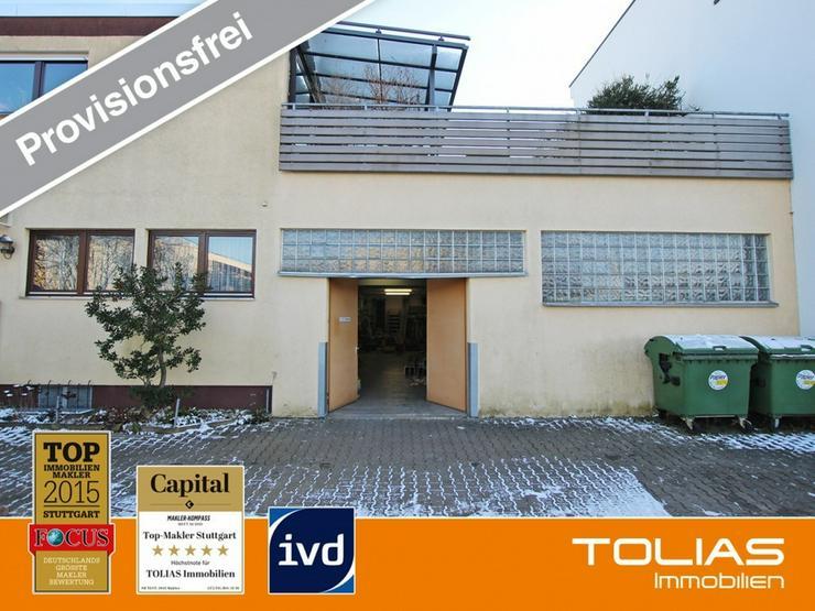 Lagerfläche ca. 200 m² - Pkw-Stellplatz, zwei Büros, Deckenhöhe 3-4 m, Starkstrom; EG ...