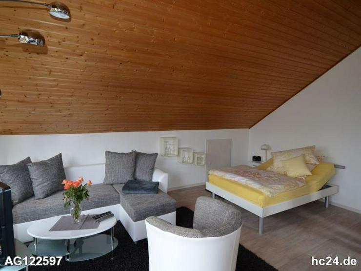Bild 2: Möbliertes Apartment mit wundervollen Ausblick nach Frankreich
