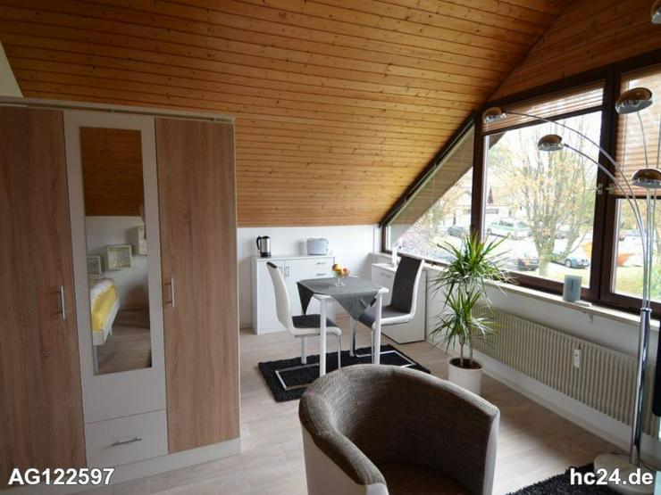 Bild 3: Möbliertes Apartment mit wundervollen Ausblick nach Frankreich