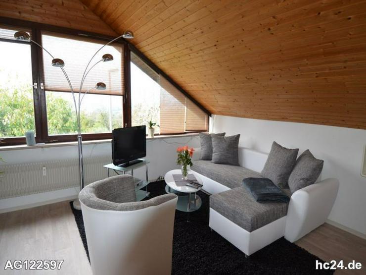 Möbliertes Apartment mit wundervollen Ausblick nach Frankreich