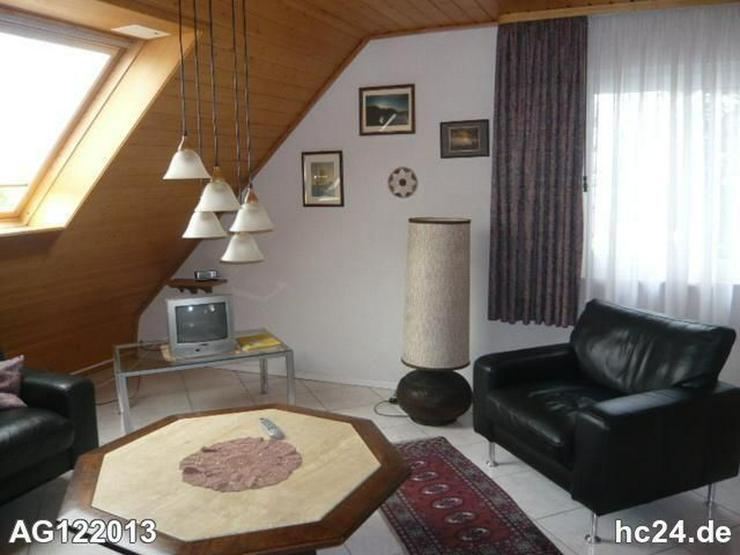 Möblierte 2 Zimmer-Dachgeschosswohnung in Lörrach -Tumringen - Wohnen auf Zeit - Bild 1