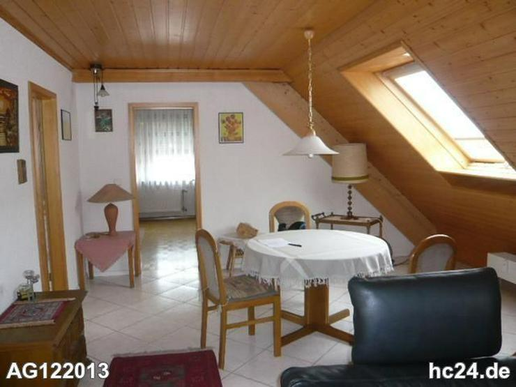 Bild 6: Möblierte 2 Zimmer-Dachgeschosswohnung in Lörrach -Tumringen