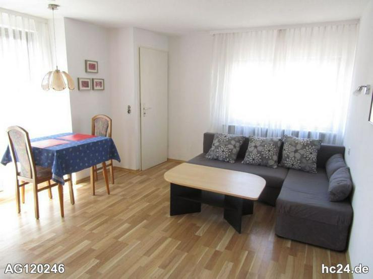 Bild 3: 2 Zimmer-Apartment in Bad Bellingen mit 2 Balkonen, möbliert