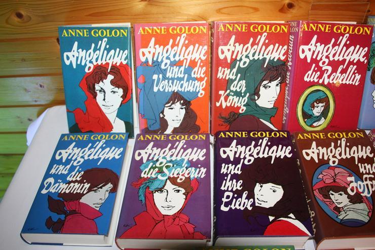Bild 4: Angelique - Bücher  , kompl. Serie ( 11 Stück )