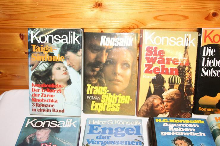 Bild 2: Bücher von Konsalik