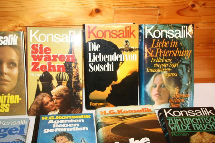 Bild 3: Bücher von Konsalik