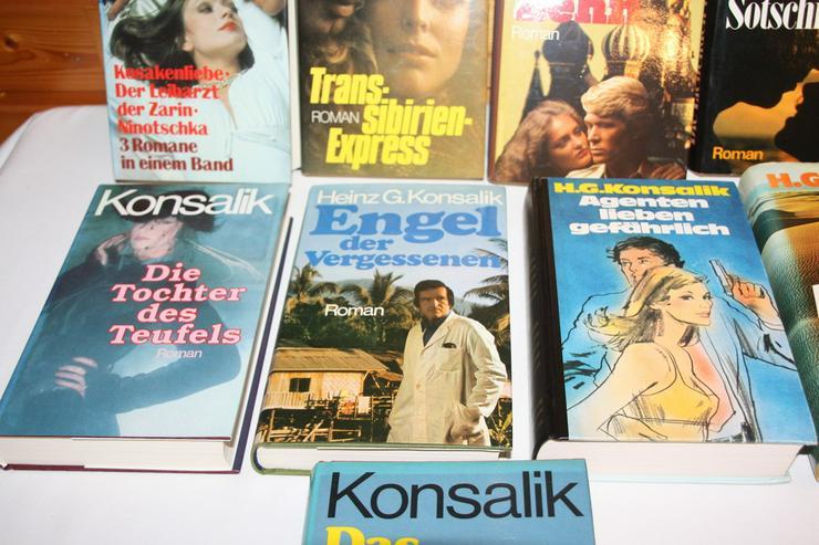 Bild 5: Bücher von Konsalik