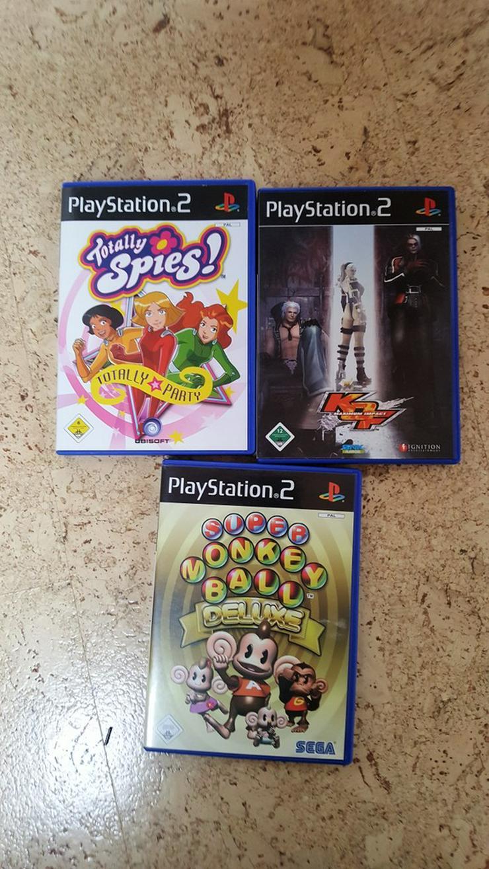 3 PS2 Spiele - Bild 1