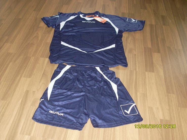 NEU:Trikotset  Shirt + Short,von GIVOVA  Gr. XL - Bekleidung - Bild 1