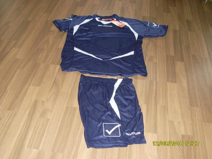 Bild 2: NEU:Trikotset  Shirt + Short,von GIVOVA  Gr. XL