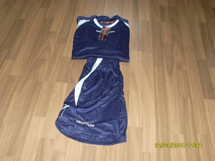 Bild 6: NEU:Trikotset  Shirt + Short,von GIVOVA  Gr. XL
