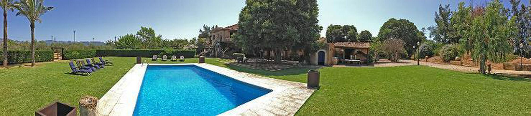 Wunderschöne Finca mit sämtlichen Extras nähe Palma - Gewerbeimmobilie kaufen - Bild 1