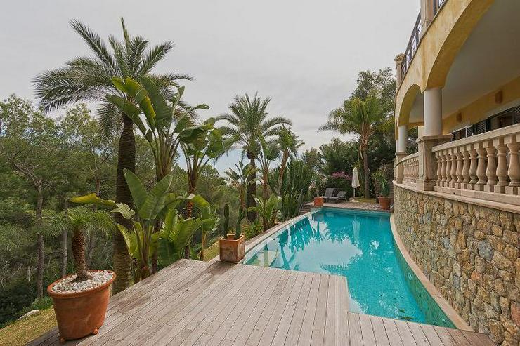 Mallorca, Qualitativ hochwertige Luxus-Villa mit Fern-Meerblick