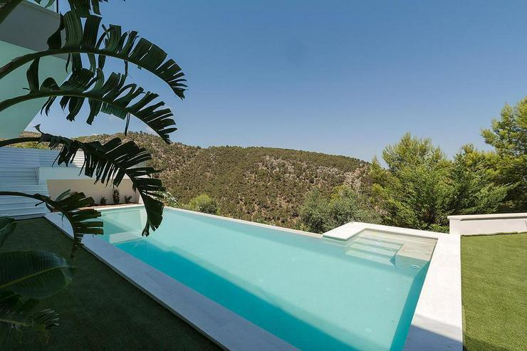 Bild 2: Mallorca, Costa den Blanes, Neubau Luxus-Villa für höchste Ansprüche mit Panorama-Meerb...