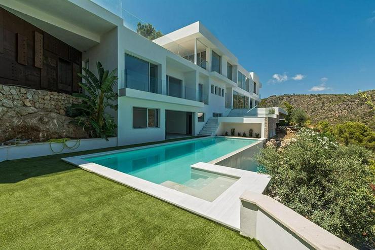 Mallorca, Costa den Blanes, Neubau Luxus-Villa für höchste Ansprüche mit Panorama-Meerb... - Haus kaufen - Bild 1