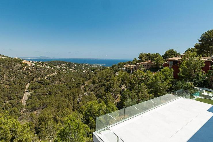 Bild 3: Mallorca, Costa den Blanes, Neubau Luxus-Villa für höchste Ansprüche mit Panorama-Meerb...