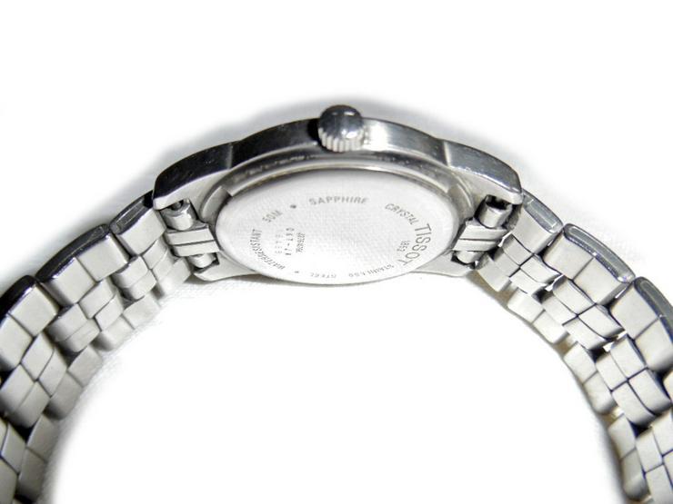 Bild 3: Elegante Armbanduhr von Tissot