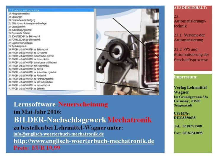BILDER-Nachschlagewerk Mechatronik (Abbildung