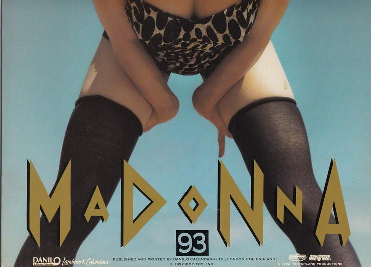 Madonna - Kalender von 1993 - Weitere - Bild 1