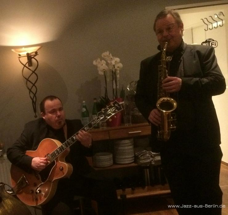 Bild 5: JazzDuo Saxophon & Gitarre Jazz Swing Bossa