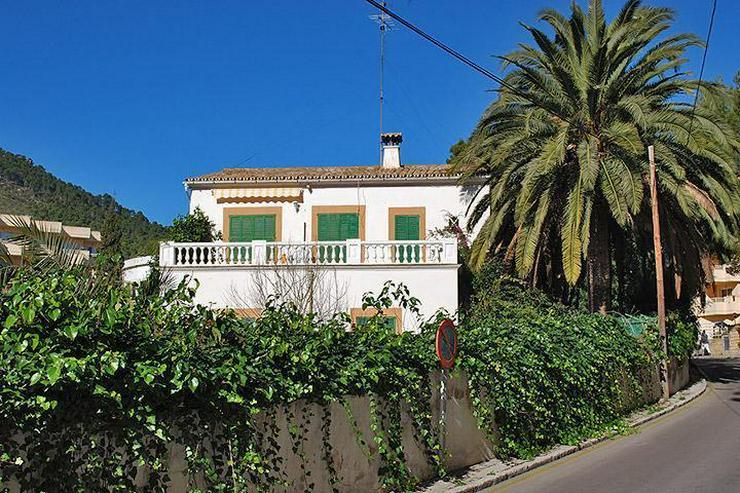 Freistehendes Haus im mallorquinischen Stil mit Garten mitten in Paguera - Haus kaufen - Bild 1