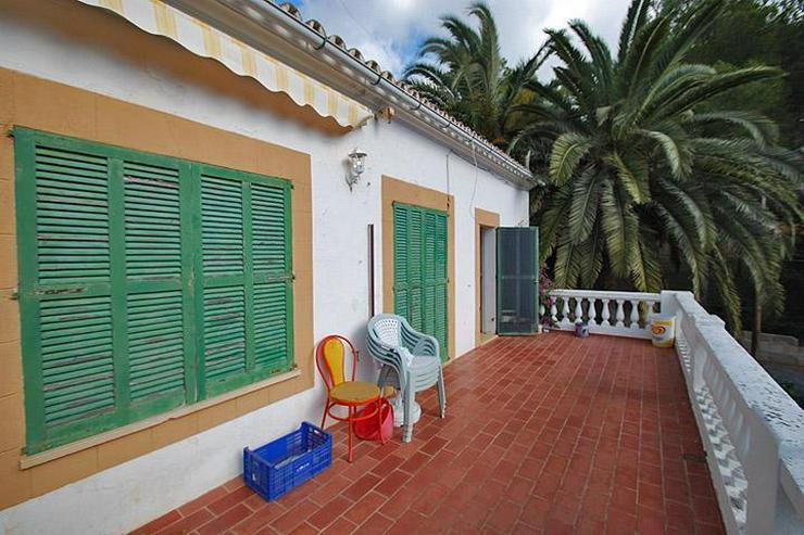 Bild 4: Freistehendes Haus im mallorquinischen Stil mit Garten mitten in Paguera