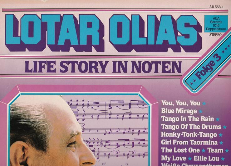 Lotar Olias Collection in verschiedenen Alben