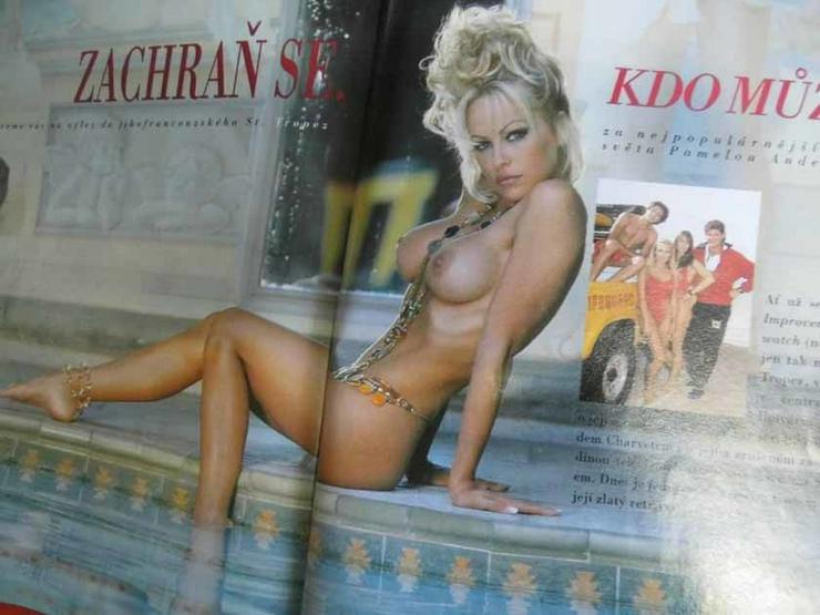 Bild 3: Zeitschrift PLAYBOY Tschechien/CZ 1995 Pamela