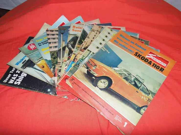 Bild 1: 11 Autozeitschriften Der Deutsche Straßenverke