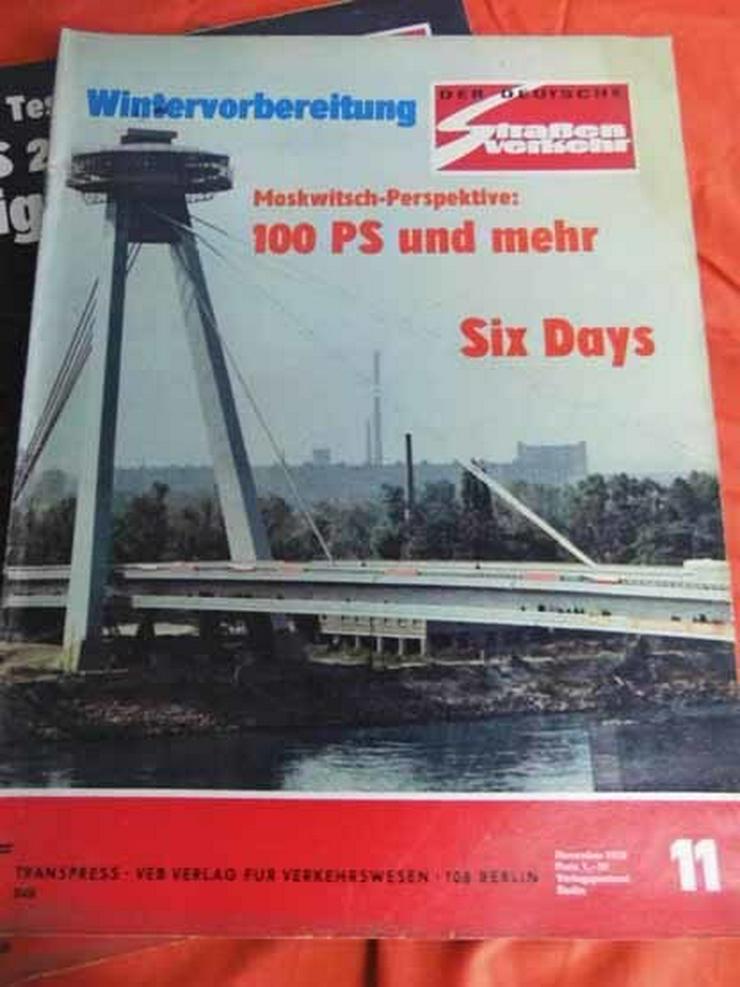 Bild 11: 11 Autozeitschriften Der Deutsche Straßenverke