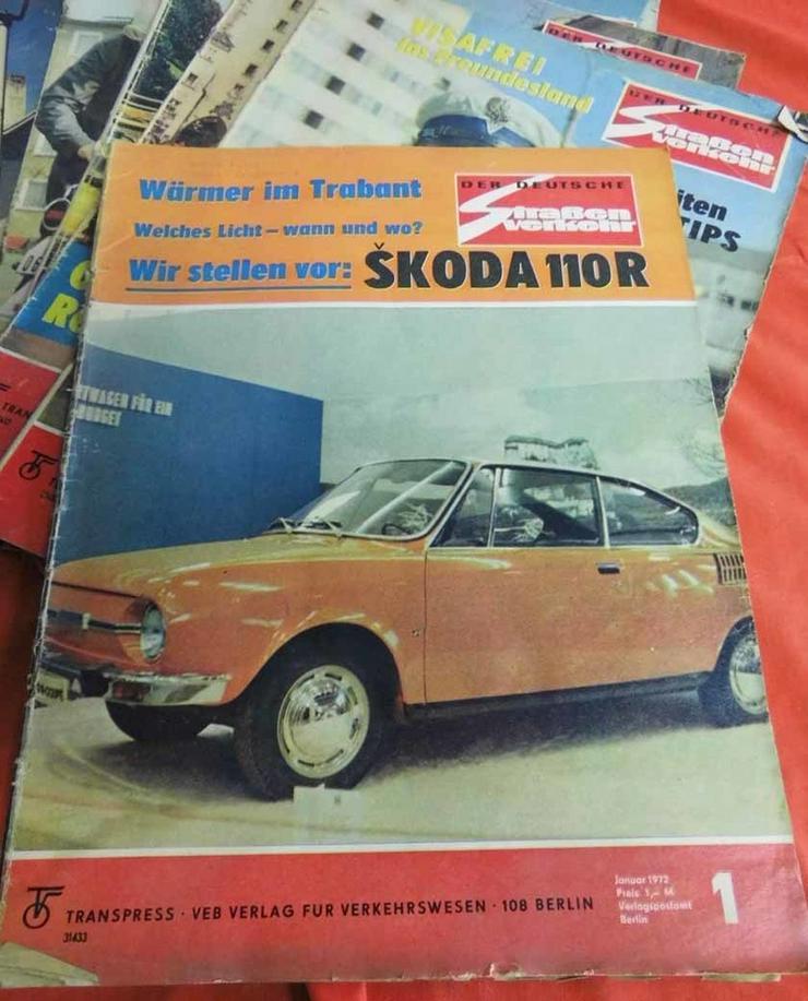 Bild 2: 11 Autozeitschriften Der Deutsche Straßenverke