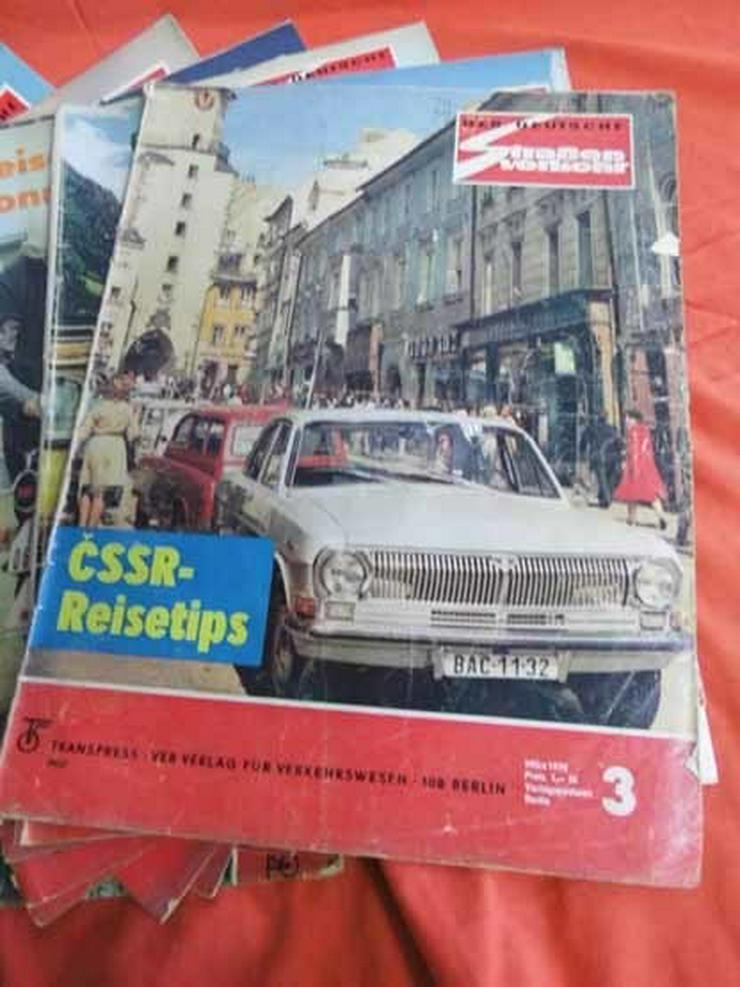 Bild 4: 11 Autozeitschriften Der Deutsche Straßenverke