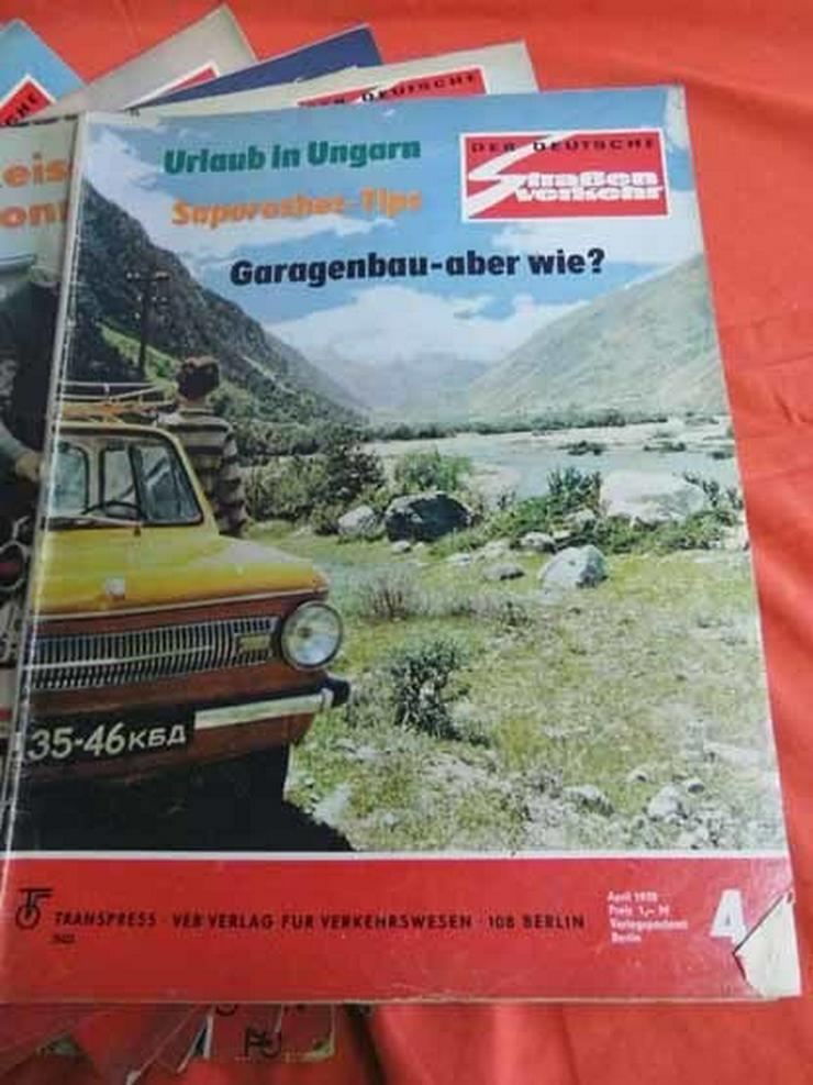 Bild 5: 11 Autozeitschriften Der Deutsche Straßenverke