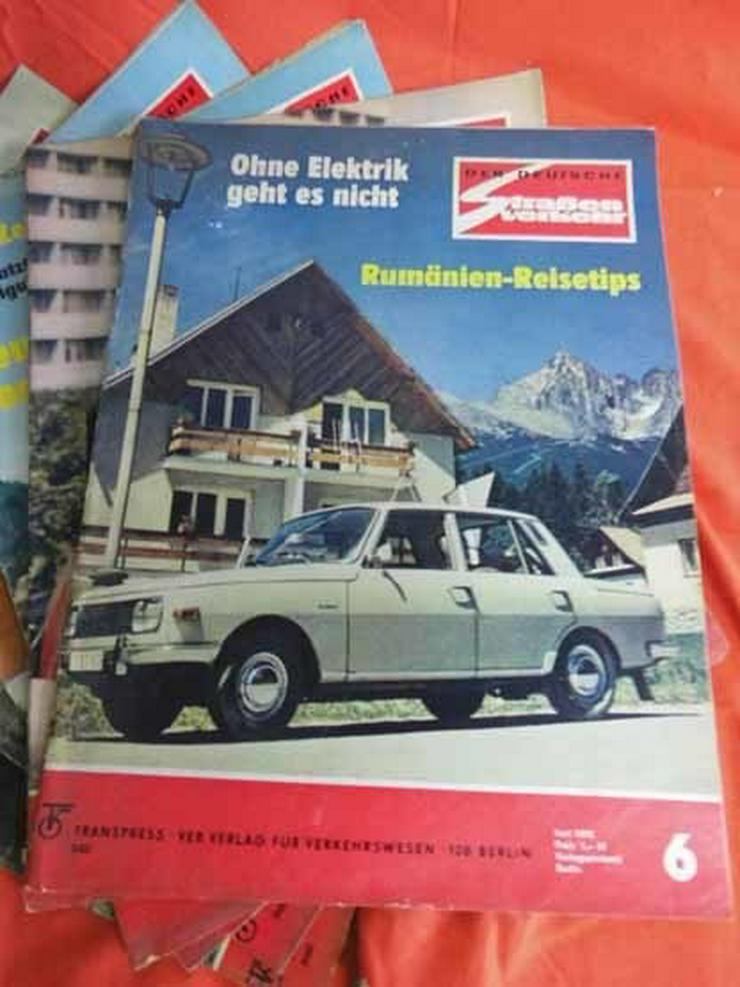 Bild 7: 11 Autozeitschriften Der Deutsche Straßenverke