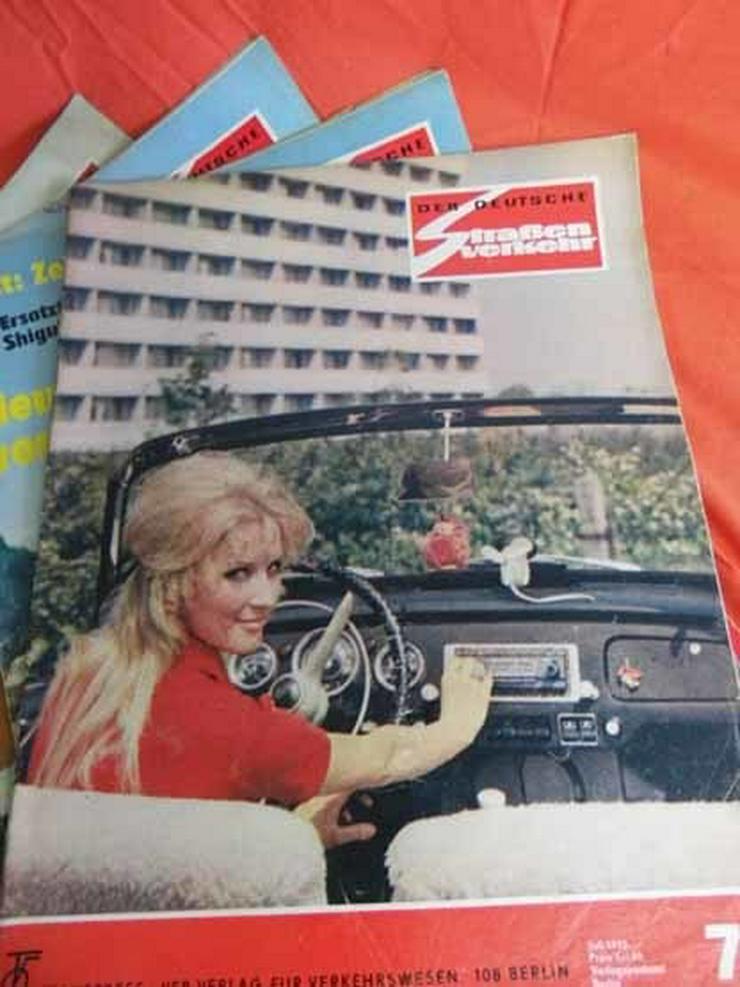 Bild 8: 11 Autozeitschriften Der Deutsche Straßenverke