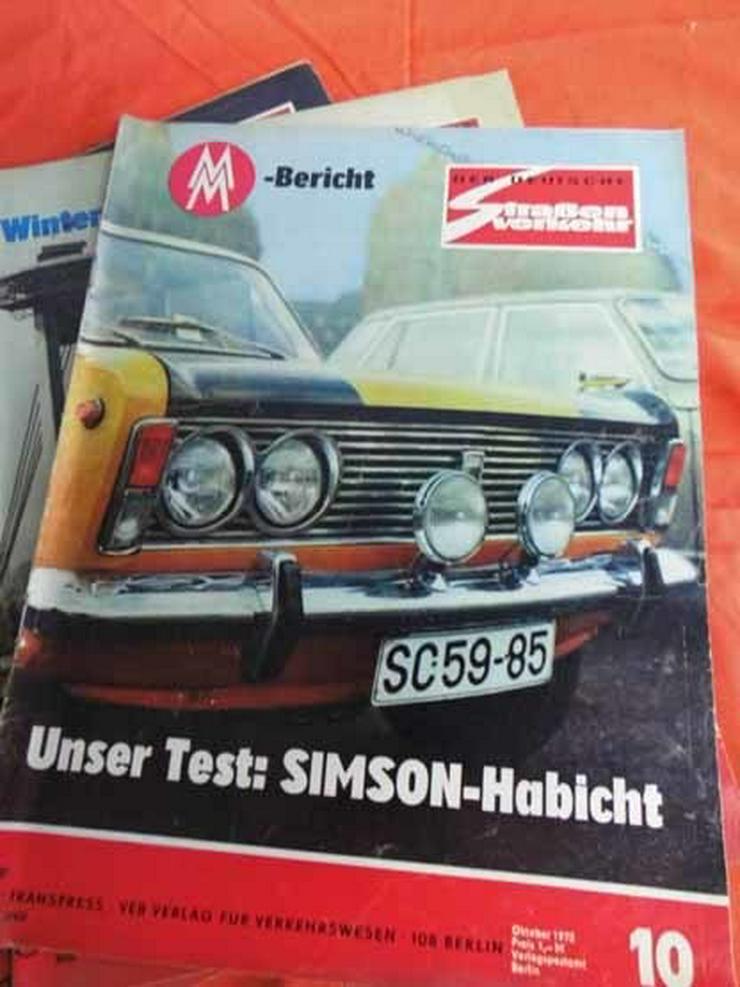 Bild 10: 11 Autozeitschriften Der Deutsche Straßenverke