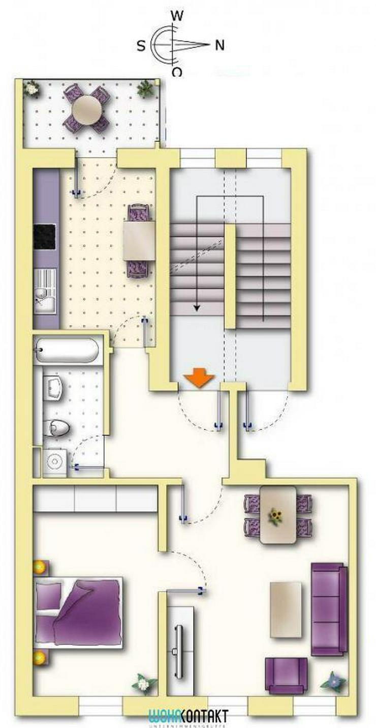 Bild 2: NEU! ** Schöne 2-ZKB mit Balkon in toller Wohnlage **