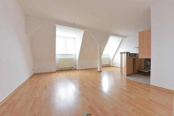 ** Dachgeschoss in Lindenau: schöne Wohnung mit Laminat, EBK und Badewanne ** - Wohnung mieten - Bild 5