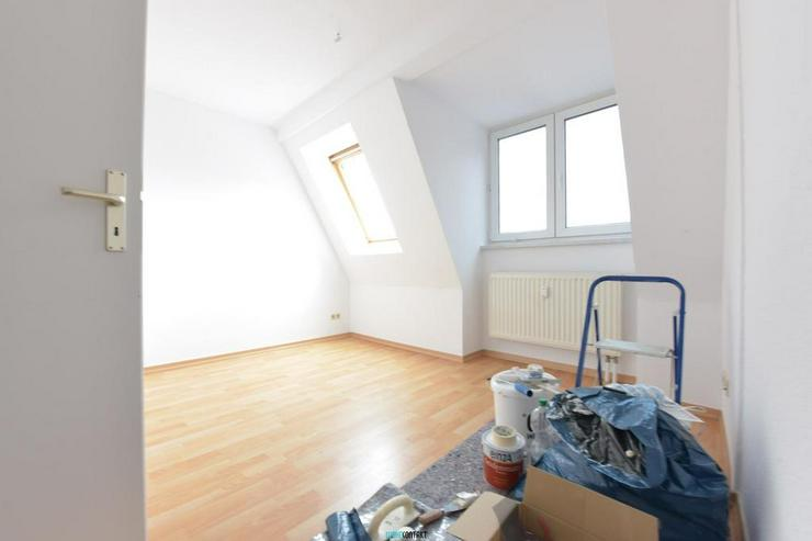 ** Dachgeschoss in Lindenau: schöne Wohnung mit Laminat, EBK und Badewanne ** - Wohnung mieten - Bild 6