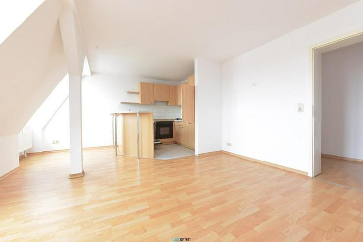 Bild 4: ** Dachgeschoss in Lindenau: schöne Wohnung mit Laminat, EBK und Badewanne **