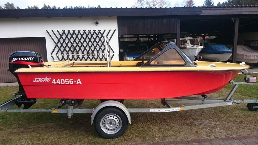 Motorboot Trainer 450x165cm Außenborder 40 PS