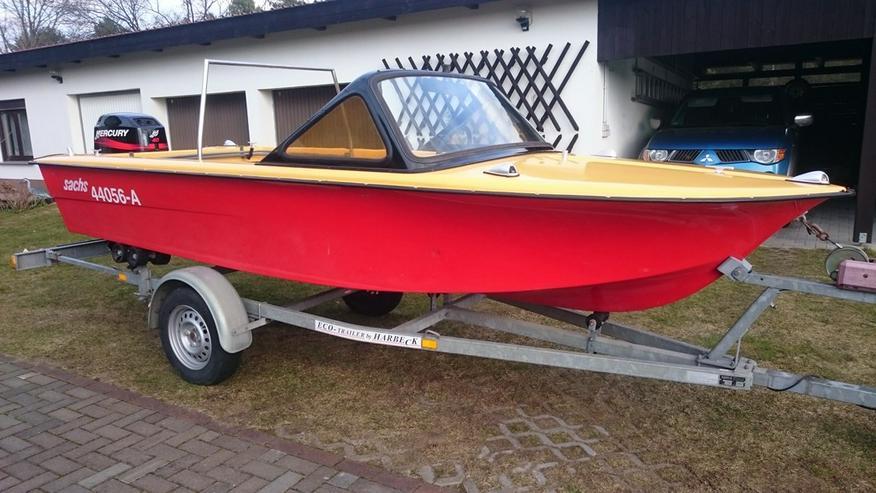 Motorboot Trainer 450x165cm Sportboot Angelboot